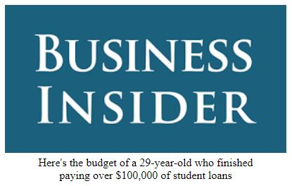 Budget Featured in Business Insider Again (Woot!)